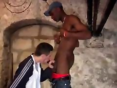 spoon ing Guy Fucks White Guy
