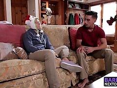 Horny bank on black Nate Stone and Ryan Pitt enjoy some bareback