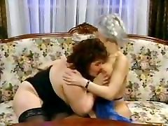 TWO BBW & SKINNY GRANNIES FUCKED BY A MAN VINTAGE