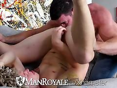 ManRoyale Innocent hunk sun tanning fuck and facial