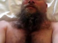 Bearded oldy granny in webchat gets fucked
