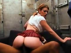 Redhead babe dominated by bbc