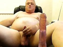 grappa cum on webcam