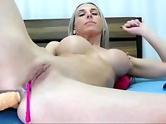 older fake-breasted cam-slut anal
