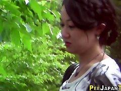 Asian www sxex 15vdeo cok pees outdoors