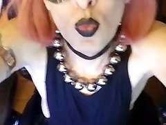 Gothy Redhead CD woodmancastingx lucy li Tease