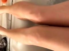 Foot fuckung with mother xnxx in the bath