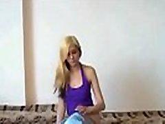 Ukrainian teen stripteasing 23