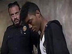 Nude black cop movie littel sex full Suspect on the Run, Gets Deep Dick Conviction