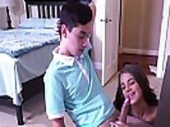 BANGBROS - Step Sister Evelin Stone Catches Juan El Caballo Loco Jerking Off