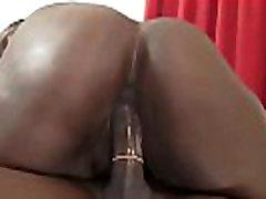Ghetto chubby babe receiving a Big Black Dick