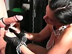 Mistresse stretches slave&039s arse