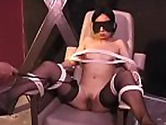 Humiliation time for bounded hottie
