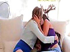 Lascivious babes enjoy having sex