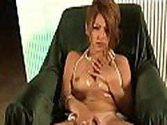 Lovely tits pekvid com charms with blow job