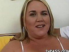 Large beautiful woman wife