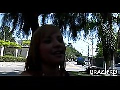 Brazil ass rides fat one-eyed monster