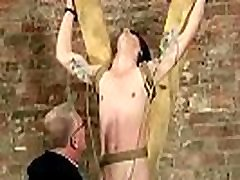 Gay twink bondage public and plays Sebastian likes to drain the