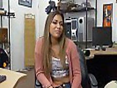 Brunette babe Nicole Rey fucks Shawns cuties orgy for cash