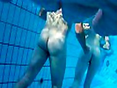 Spy Hidden Underwater Nudist Couples