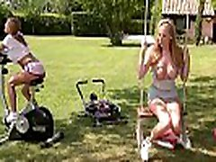 Watch Danielle Maye and Loulou Petite workout &amp masturbate Together