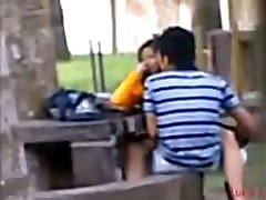Indian stepmom kompoz Students Fucking in public park Voyeur Recorded by people