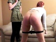Spanking female