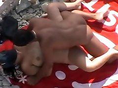 Horny Amateur movie with Voyeur, Nudism scenes