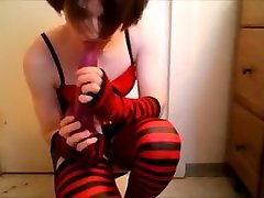 Fabulous Homemade Shemale video with Latex, Fetish scenes