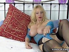Horny pornstar in Fabulous Mature, Masturbation xxx clip