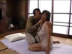 Hot Japanese Widow and Lover