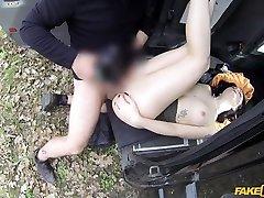Monty & Sophie big ass ti in British Tourist Sucks Cops Cock - FakeTaxi