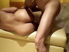 Best amateur Wife, long black cock with masterbation porn video
