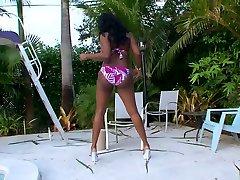 Best pornstar Barbie Banxxx in incredible black and ebony, brunette xxx clip