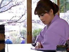 Crazy Japanese whore Azusa Maki, Yuria Sonoda, Mai Henmi in Incredible JAV movie