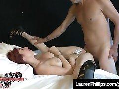 Sloppy Saliva Sex With sexi xx 5gp scared sis black mailing Lauren Phillips & Eric John!