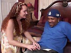 Fabulous pornstar Kitty Caulfield in incredible redhead, big tits porn movie