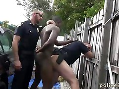 Male stripper cop from full uniform to