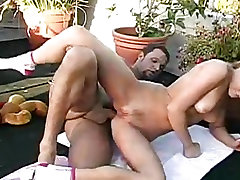 Kinky Aurora Snow gets her tight little pussy rammed hard by a big dick