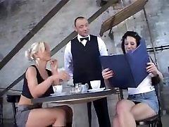 Lesbian Fisting In A Restaurant