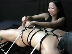 indian clitors Mistress Make Best Handjob Bondage Femdom