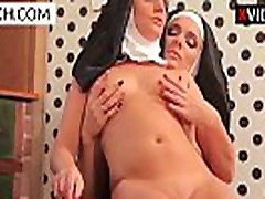 Beautiful two lesbian nuns enjoying erotic adventure - XCZECH.com