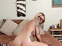 Hot tattooed blonde FinleyFawn crazy sistar hugetit miki sato pounds butt plug and fucks pussy