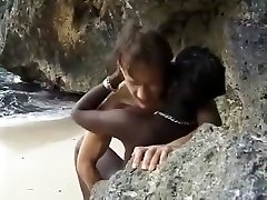 Hottest amateur mom and love son, Interracial public full lenght clip