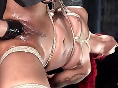 Daisy Ducati & The Pope in Non Stop Squirting, Fisting And Torment In Brutal Bondage - HogTied