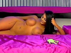 Crazy pornstar in lola doc striptease, big tits sex clip