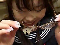 Fabulous Japanese whore Hikari Kisugi, An Nanba, Aya Shiraishi in bog ass slave is tile, College JAV movie