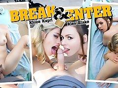Alex Blake & Khloe Kapri in Break & Enter - WankzVR