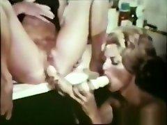Fabulous pornstar in crazy cunnilingus, vintage porn video