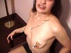 exotické domácí piercing, brunetky sex clip
